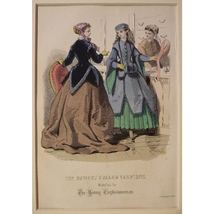 The newest french fashions - .   Storey's