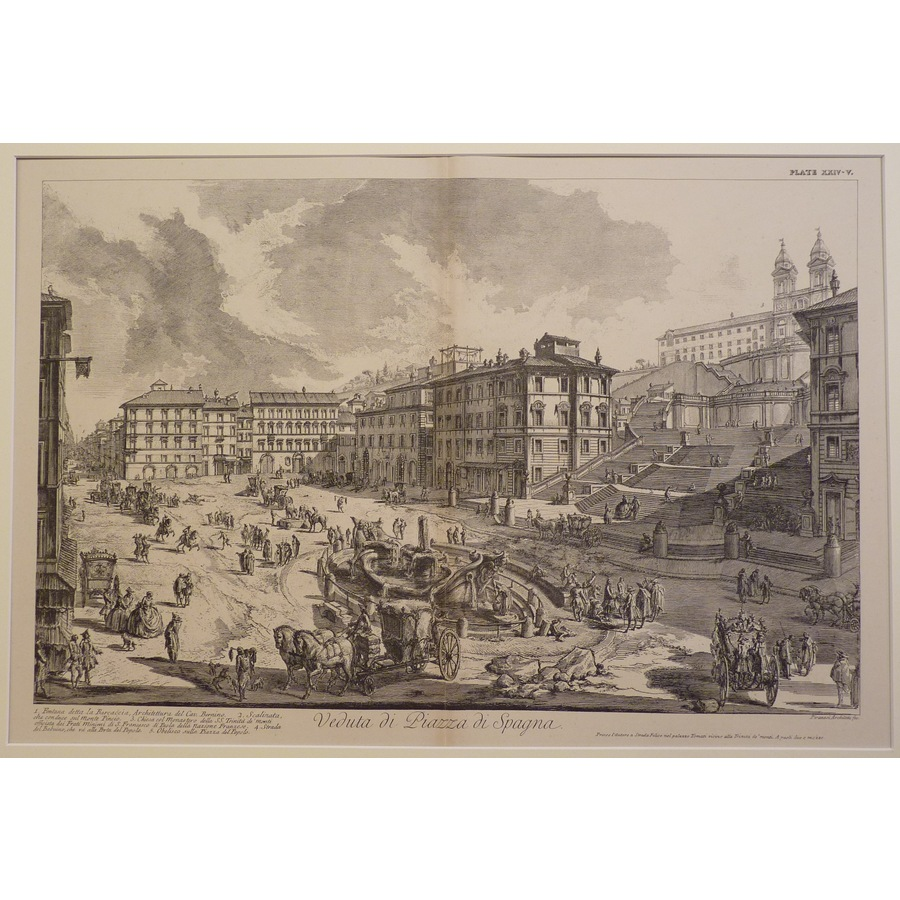 View of the piazza di spagna | Storey's