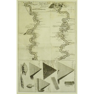 An exact map of the river nile - 1714