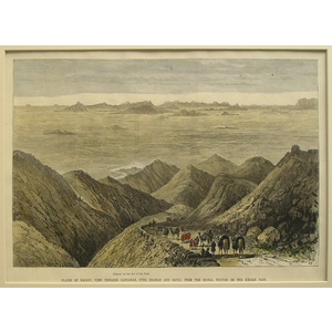 Plains of kadani, view towards candahar, over chaman and gatai, from the signal station of the kh...