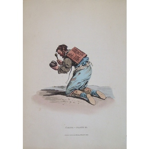 *plate xxi - a chinese mendicant