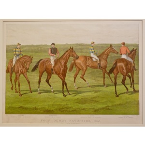 Four derby favorites, 1890
