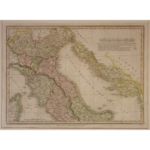 Northern and middle italy - c. Smith, 1826