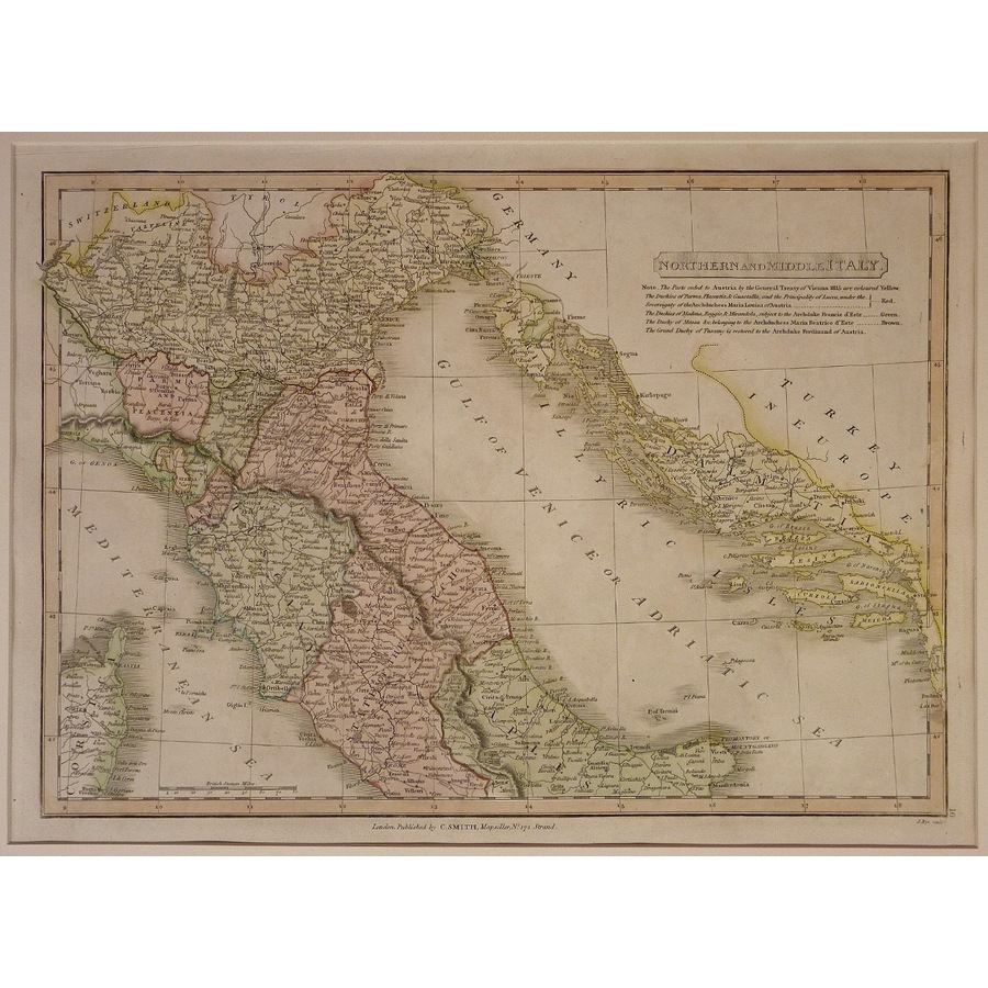 Northern and middle italy - c. | Storey's