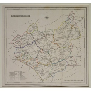 Leicestershire - lewis, 1848