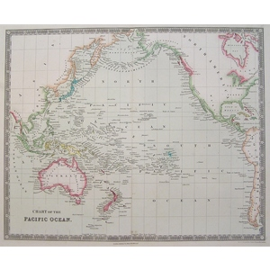 Chart of the pacific ocean - teesdale