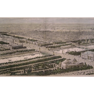 General view of the paris exhibition of 1900