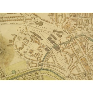 London, North West Sheet - Cassell, 1863