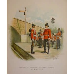 The duke of edinburghs wiltshire regiment (62nd & 99th foot)
