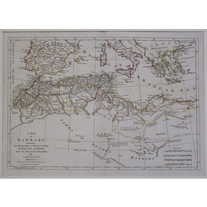A map of barbary