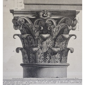 Demonstration in large parts of the Portico of the Pantheon - -Plate XC - I