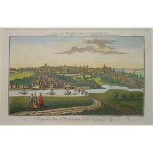 Perspective view of colchester in the county essex