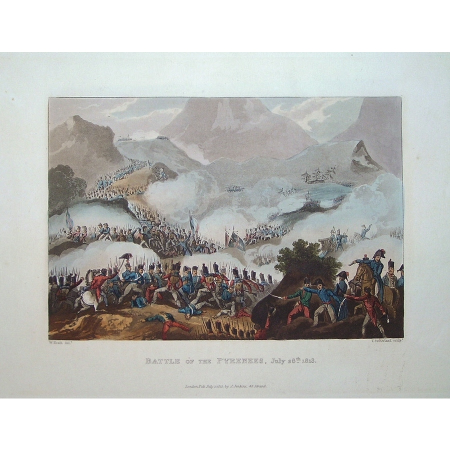 Battle of the pyrenees, july . | Storey's