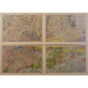 Geological map of london and environs