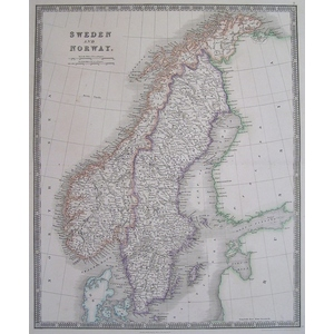Sweden and norway - teesdale 1844