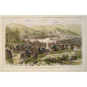 The afghan war: charge of cavalry in the action of dec. 11Th, to cover the retreat of the guns