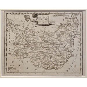 A new map of suffolk
