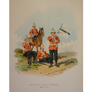 The south wales borderers (24th foot)