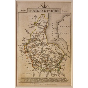 Somersetshire - cary, 1792
