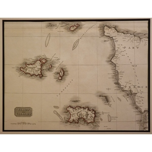 Jersey and guernsey - pinkerton, 1817