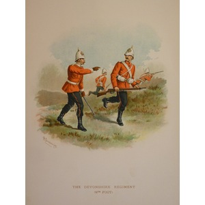 The devonshire regiment (11th foot)