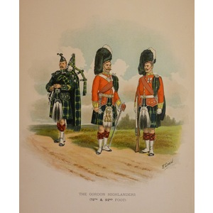 The gordon highlanders (75th & 92nd foot)