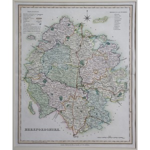 Herefordshire - teesdale, 1851