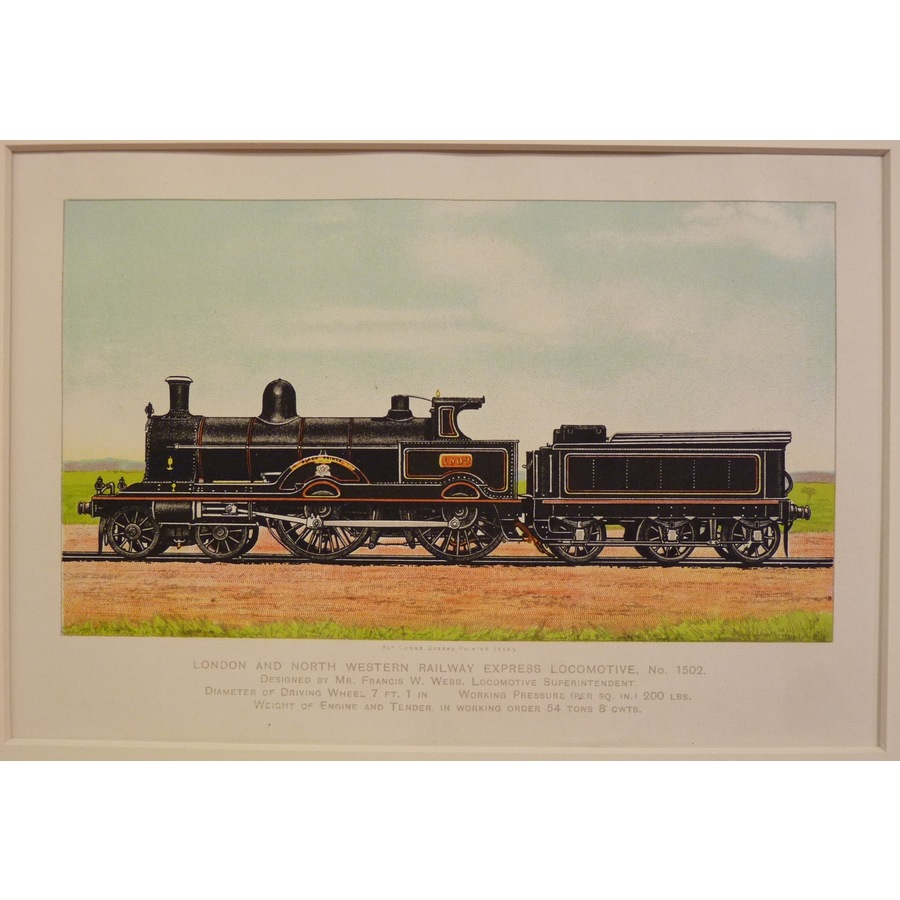 London and north western rail. | Storey's