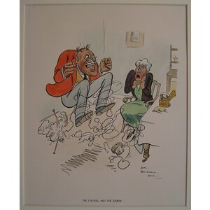 H M Bateman 1887 - 1970 ; The colonel and the jumper