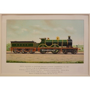 South eastern and chatham railway express locomotive no 735