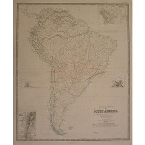 Mountain chains of south america