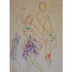 Marc Chagall - Original lithograph from