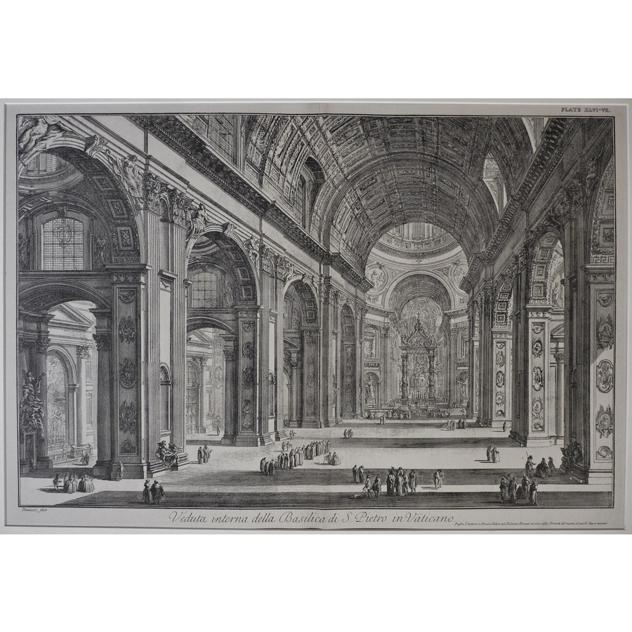 View of the Interior of St Pe.   Storey's