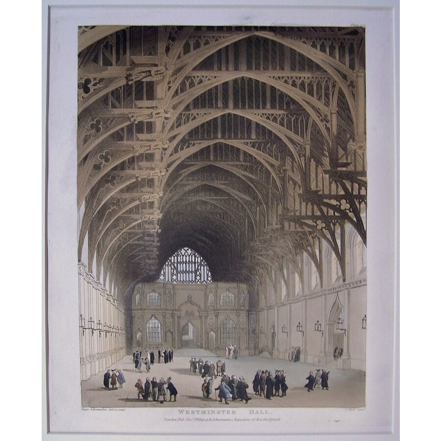 Westminster hall | Storey's