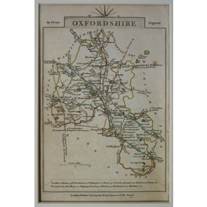Oxfordshire - cary, 1792