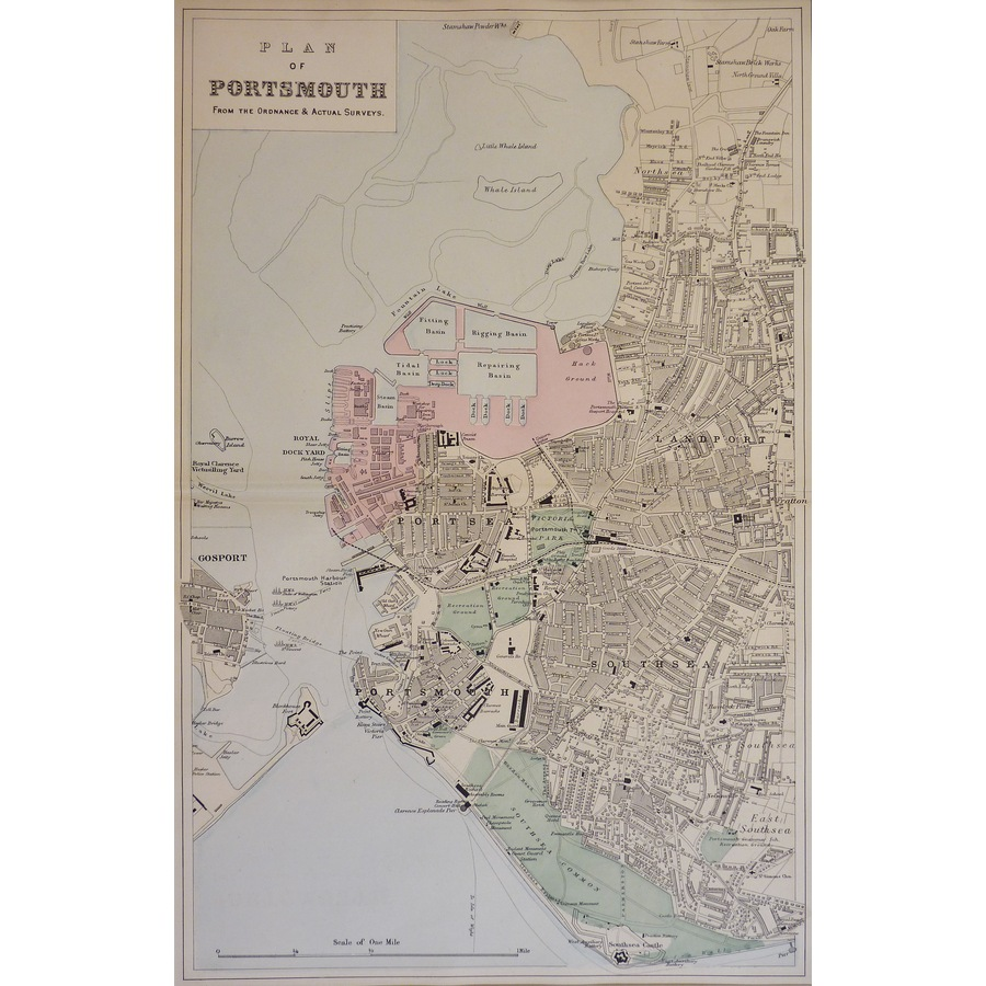 Portsmouth, Mouth of - Origin. | Storey's