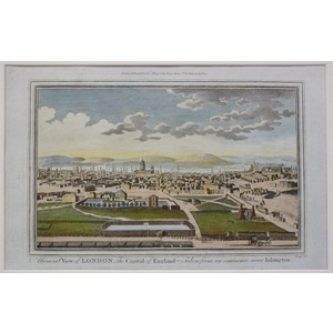 A general view of london, the capital of england