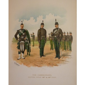 The cameronians, scottish rifles (26th & 90th foot)