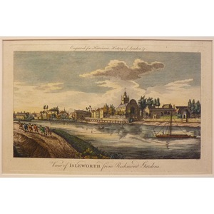 View of isleworth from richmond gardens
