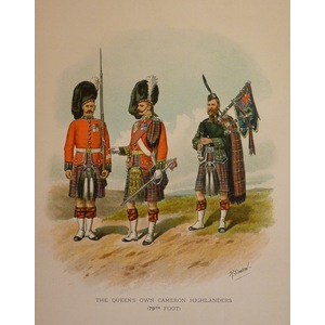 The queens own cameron highlanders (79th foot)