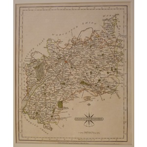 Gloucestershire - cary 1793