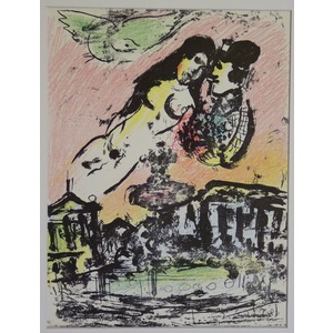 The lovers heaven - chagall