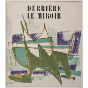 Untitled - Cover for Derriere le Miroir, No.41.  By Pierre Pallut. Printed by Mourlot. Published ...