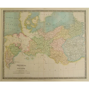 Prussia with part of poland - teesdale