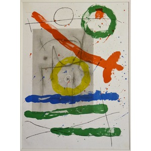 Carton no. 9 - Joan miro
