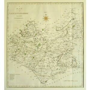 Leicestershire - Cary, 1789