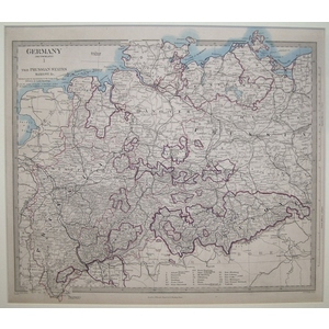Germany - the prussian states, saxony etc - sheet 1