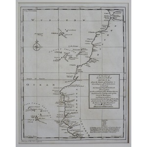 A chart of the western coast of africa - 1752