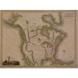 North America - Thomson, 1827