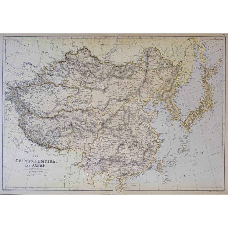 The Chinese Empire and Japan .   Storey's